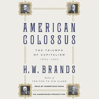 American Colossus audiobook cover art