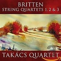 String Quartets Nos.1 2 & 3
