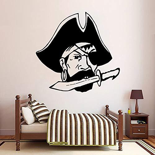 Yaonuli Pirat Captain Kinderkamer Deco Wall Sticker Vinyl Sticker slaapkamer Art zelfklevend