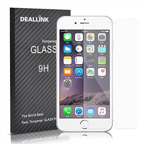iPhone 6/6S Protezione Dello Schermo / Deallink vetro temperato Guardia schermo con alta durezza 9H (0.3mm HD Ultra Clear)