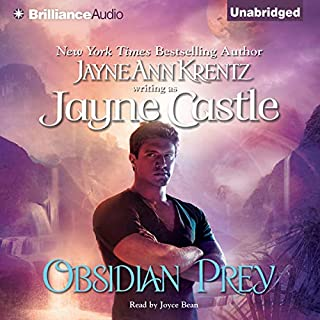Obsidian Prey     Ghost Hunters, Book 6              Written by:                                                                                                                                 Jayne Castle                               Narrated by:                                                                                                                                 Joyce Bean                      Length: 8 hrs and 26 mins     Not rated yet     Overall 0.0