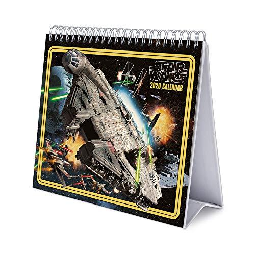 ERIK Star Wars Classic, Calendario De Escritorio, 17x20 cm, Multicolor