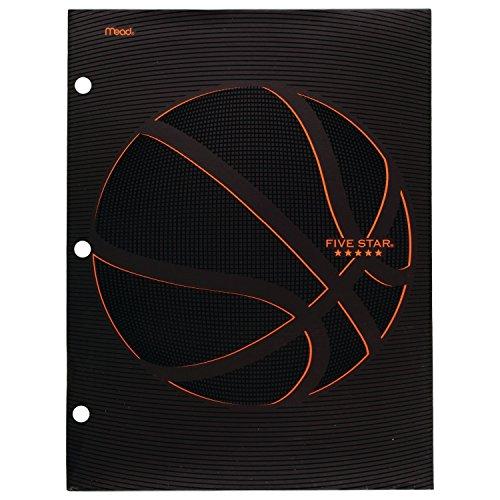 Five Star Folder, 4-Pocket, Water-Resistant Paper Folder, Assorted Sports Designs, Design Selected for You (35633)