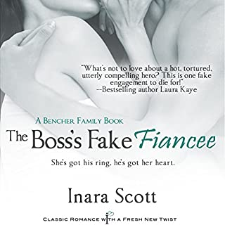 The Boss's Fake Fiancee cover art