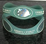 The Strength Stability Bracelet Top Rated #1 Powerful Dynamic Magnetic Protection (Medium Glow)