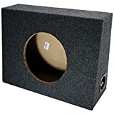 Single 10' Subwoofer Regular Standard Cab Truck Sub Box Enclosure 5/8' MDF