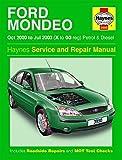 [Ford Mondeo Petrol & Diesel (Oct 00 - Jul 03) Haynes Repair Manual: 2000 to 2003 (Haynes Service and Repair Manuals)] [Anon] [September, 2003]