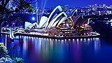 Rompecabezas Para Adultos 1000 Piezas 3D La Casa De La Ópera En Sydney Night Sydney Theatre De Madera Montaje Personalizado