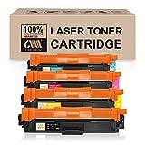 CMCMCM Cartucho de tóner Compatible con Brother TN241 TN245 para Brother HL-3140CW DCP-9020CDW HL-3142CW HL3152CDW DCP-9015CDW MFC-9130CW MFC-9330CDW MFC-9340CDW HL-3150CDW HL-3170CDW MFC-9140CDN