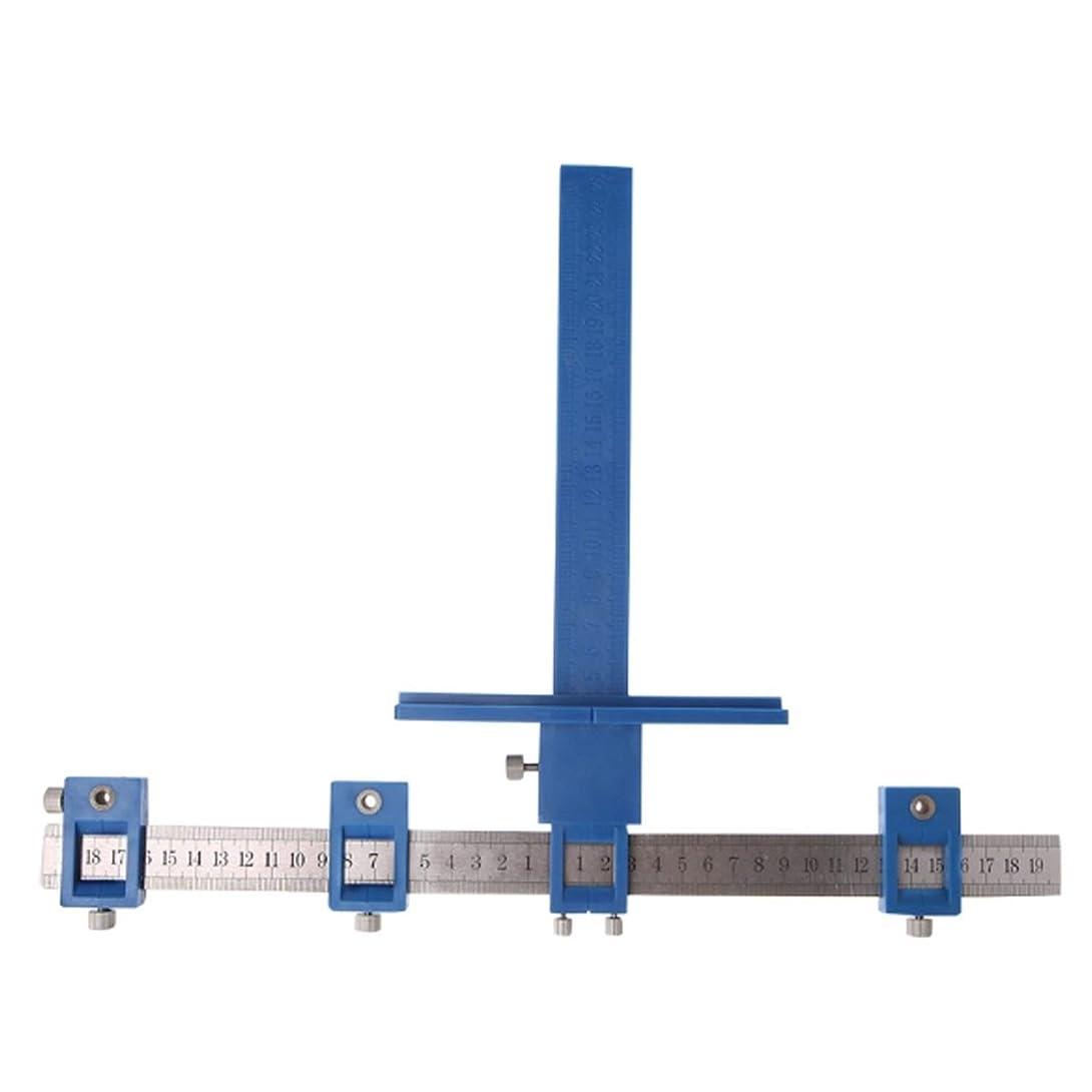 アルコーブ印象的平和的L.P.L ツールパンチ ロケーター 多機能 ドリルガイド 調節可能 ウッドドリル 取り付け用ハンドル