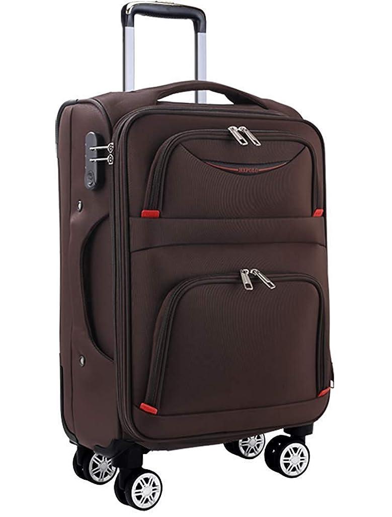 警報素人信号Osonm ビジネスバッグスーツケースソフトキャリーバッグ機内持込 大型預け入れスーツケース キャスター613SD