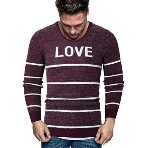 Zarupeng heren dunne gebreide trui jumper winter split casual lange mouwen gebreide trui met ronde hals tops sweatshirt blouse