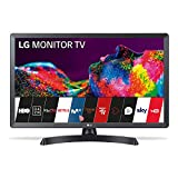 LG - 28TN515S-PZ, Monitor Smart TV da 70 cm (28') con schermo LED HD (1366 x 768, 16:9, DVB-T2/C/S2, WiFi, 5 ms, 250 CD/m2, 5 M:1, Miracast, 10 W, 1 x HDMI 1.3, 1 x USB 2.0), colore nero