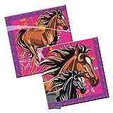 Tovaglioli cavalli - 20 pezzi