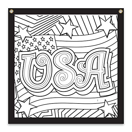 Rico Industries USA Design Color-Me Felt, 36 x 36-inches, White (CMF116170CL)