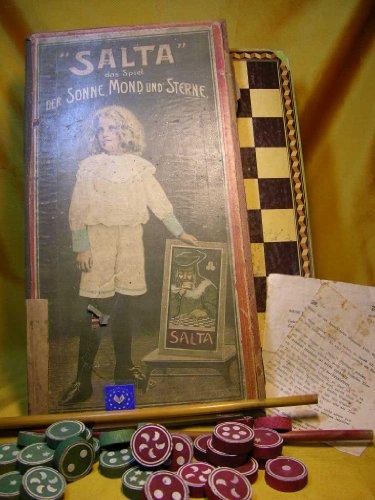 Altes Brettspiel um 1900 :