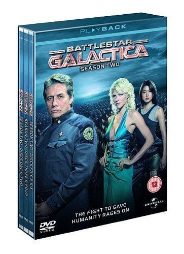 Battlestar Galactica - Season 2 [6 DVDs] [UK Import]