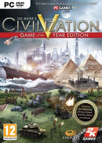 Civilization 5 Game Of The Year Edition (PC DVD) GIOCABILE IN ITALIANO