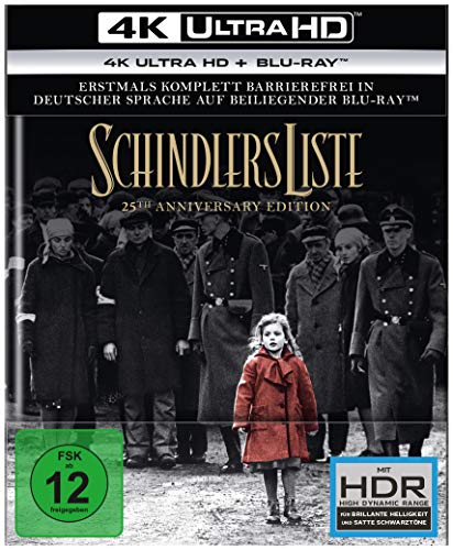 Schindlers Liste - 25th Anniversary Edition (4K Ultra HD) (+ Blu-ray 2D)