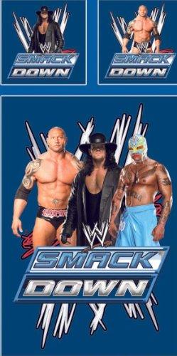 WWE Wrestling Bettwäsche Smackdown 140 x 200 cm