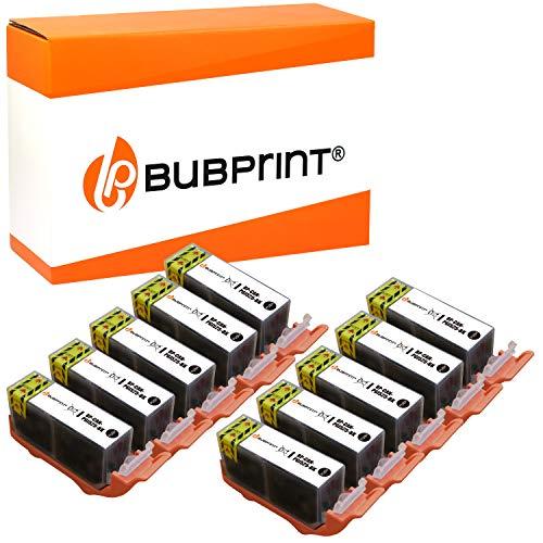 Bubprint 10 Druckerpatronen kompatibel für Canon PGI-525PGBK PGI 525BK für Pixma IP4850 IP4950 IX6550 MG5150 MG5250 MG5350 MG6150 MG6250 MG8150 MG8250
