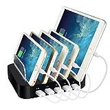 ELEGIANT USB Ladestation, 5 Ports Universal Ladestation Multiladegerät 2.4A Dockingstation...