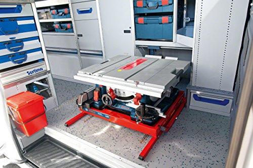 Bosch GTS 10 XC Professional Tischkreissäge, 2.100-Watt-Motor mit Motorbremse, Schnitthöhen bis 79 mm, Sägeblattdurchmesser 254 mm, Karton, 0601B30400 - 5