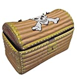 Henbrandt Inflatable Treasure Chest / Pirate Party Accessories