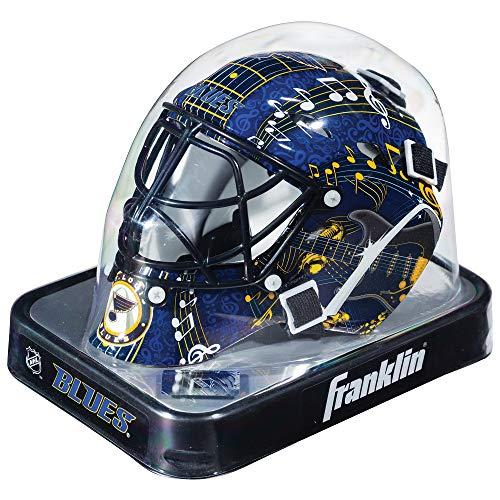 Franklin Sports Eishockey-Sammelartikel Torwart-Helm Mini, Design: Logo Einer NHL-Mannschaft, Unisex, 7784F02, Navy