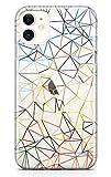 LA COQUERIE Coque Sony Xperia Z Style Art géométrique en Silicone Transparent Souple et Fin pour...