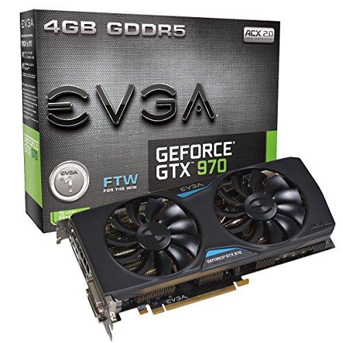 EVGA EVGA GTX GTX 970Superclocked DVI-I, DVI-D, HDMI, DP SLI bereit Grafikkarte Grafikkarten