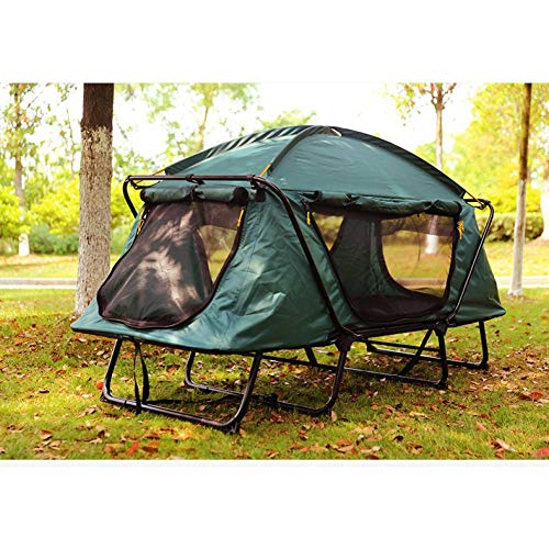 ZZPEO Automatic Smart Tent Off Ground Tent Above Ground Waterproof Outdoor Folding Camping Bed Tent, Camping Bed Tent