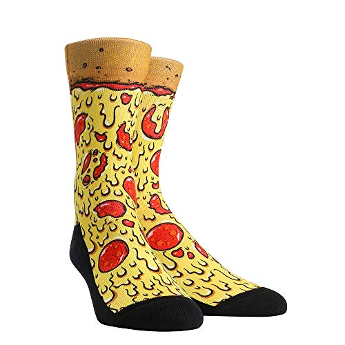 Food Buffet Rock 'Em Socks (Men's, Pizza)