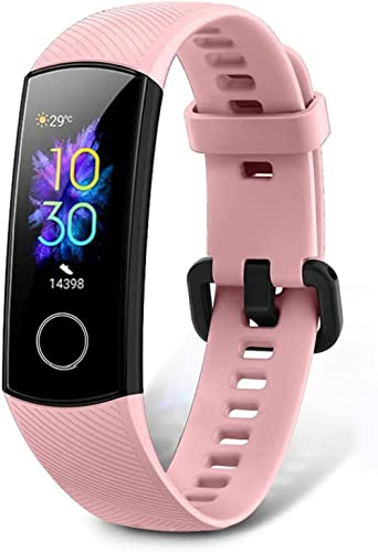 Honor Band 5 Fitness Tracker, Activity Tracker with SpO2 Monitor Heart Rate and Sleep Monitor Calorie Counter Pedomet...