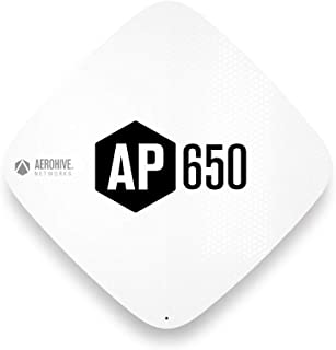 Aerohive | AP650 Enterprise-Grade 4x4, 4-Stream, 802.11ax Access Point with Integrated Antenna | AH-AP-650-AX-FCC