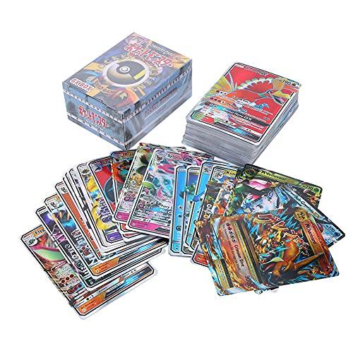 100PCS Pokemon Cards, LSGGTIM Gx Et Ex Cards, GX Tag Team Cards,Pokemon Fun...