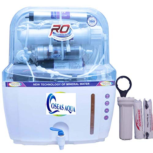 OS Club Aqua Fresh 15L 14 Stage RO+UV+UF+TDS Alkaline RO Water Purifier with Full KIT (A+1213)