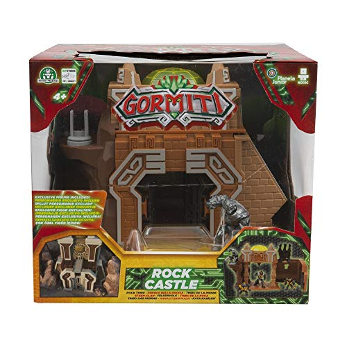 Giochi Preziosi Gormiti, Series 2, Action Playset Rock Castle, with 5 cm character included