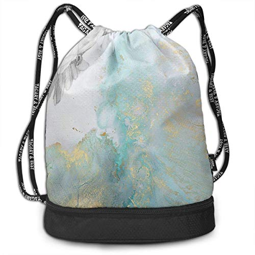 DSGFSQ Zaini Casual Dove Men & Women Sport Gym Sack Drawstring Backpack Bag Polyester Drawstring Bag for Gym School Or Travel