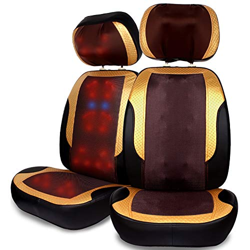 Affordable Chair Super Big Heating Massage Cushion Electric Back Roller Massage Multifunctional Full...