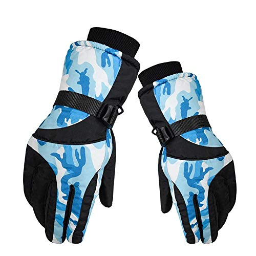 LEIHONGJIE Outdoor Bergsteigen Handschuhe Mischfarbe Ski Handschuhe Winds Topper Ski Snowboard Handschuhe-3