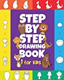 The Step-by-Step Drawing Book for Kids: A Children's Beginners Book on How-To-Draw Animals, Cartoons, Planes...