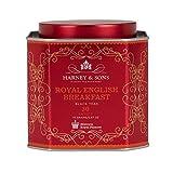 Harney & Sons Royal Tea Tin Blend of Black Teas, Great Present Idea Sachets, 2.67 Ozs, English Breakfast, 30 Count