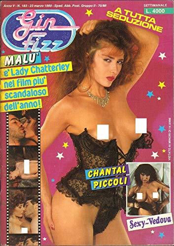 Gin Fizz Rivista erotica Anno 1989. 23 marzo n.183. Chantal Piccoli, Moana Pozzi