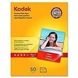 Kodak Premium Photo Paper for inkjet printers, Gloss Finish, 8.5...