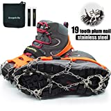 Ice Cleats Crampons Traction Snow Grips for Boots Shoes Adults or Kids, Anti-Slip