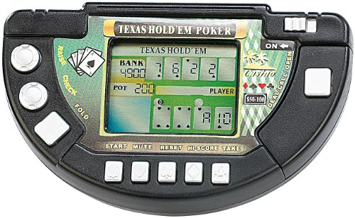 MGT Mobile Games Technology LCD Game: Poker LCD-Spielkonsole Texas Hold'em (Spiel-Konsole)