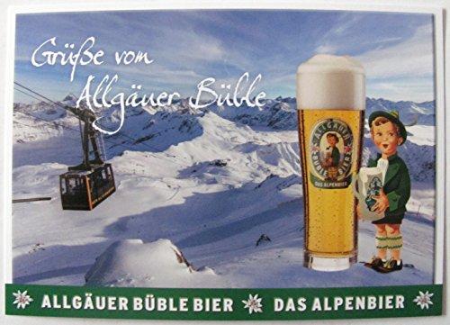 Allgäuer Brauhaus - Büble Bier - Grüße von Allgäuer Büble - Postkarte - Motiv 03