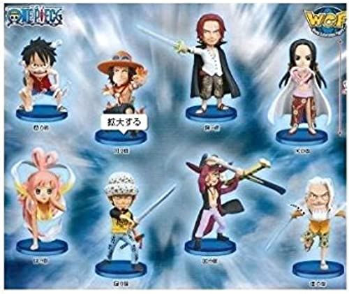One Piece World Collectable Figure - ha - Banpresto (all eight species full comp set + bonus poster) (japan import)