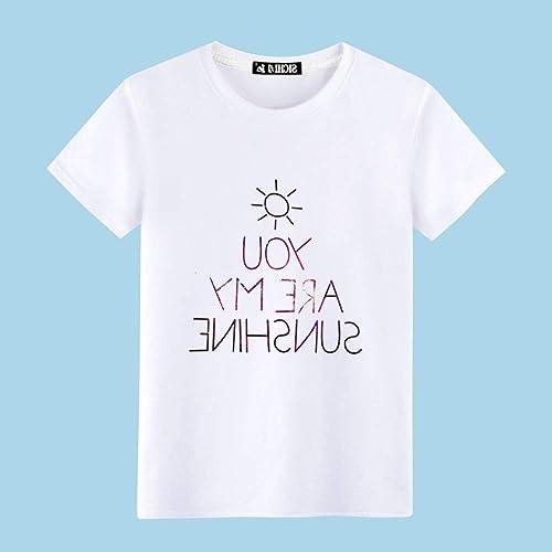 Lxj chandail Nouveauté T-Shirts T-Shirt pour Hommes Grande Taille T-Shirt à Manches Courtes pour Hommes Lache Simple MouveHommest
